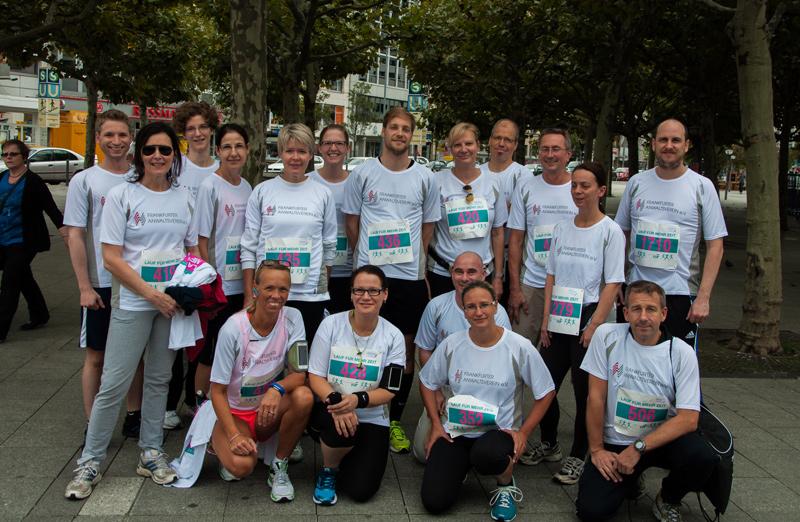 Fav bewegt sich teilnahme am benefizlauf der aids hilfe for Stellenangebote grafikdesigner frankfurt