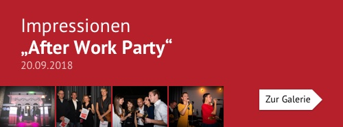 After Work Party am 20.09.2017